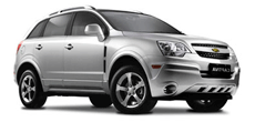 Chevrolet Captiva Auto ou similar