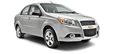 Chevrolet Aveo Sedan or similar