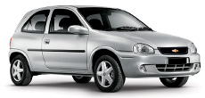 Chevrolet Corsa ou similar
