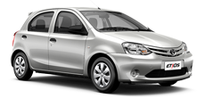Toyota Etios or similar