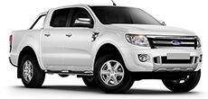 Ford Ranger Double Cab 4x4  or similar