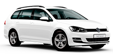 VW Golf Variant ou similar