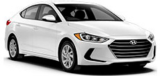 Hyundai Elantra or similar