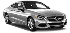Mercedes-Benz C-Class Coupe or similar