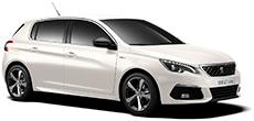 Peugeot 308 or similar