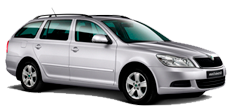 Skoda Octavia Estate or similar