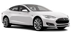 Tesla Model S or similar