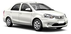 Toyota Etios or similar