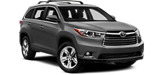 Toyota Highlander 4WD or similar