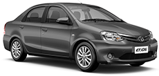 Toyota Etios ou similar