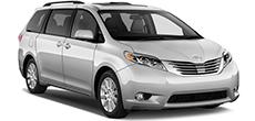 Toyota Sienna or similar