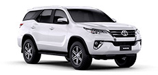 Toyota Fortuner SW4 or similar