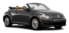 VW Beetle Convertible ou similar