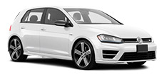 VW Golf R or similar