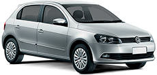Volkswagen Gol or similar